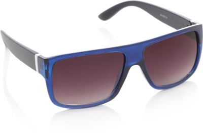 Joe Black JB-492-C4 Rectangular Sunglasses(Violet)