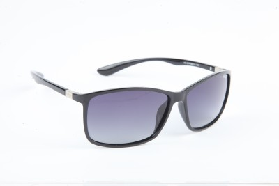 IMAGE IM-436-C1-P Wayfarer Sunglasses(Black)