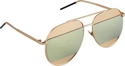 6by6 SG1662 Aviator Sunglasses(Green)