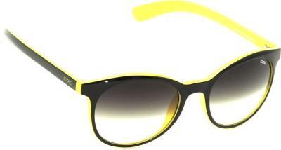 IDEE IDEE-S1915-C6 Round Sunglasses(Black)