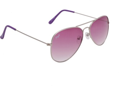 Floyd 028_SIL_VOILET_VOILET Aviator Sunglasses(Violet)