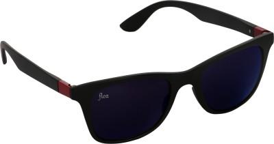 Floz 007SM Red Wayfarer Sunglasses. Rectangular Sunglasses