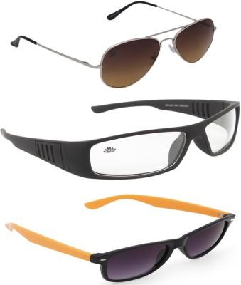 ABLOOM Aviator, Rectangular, Wayfarer Sunglasses