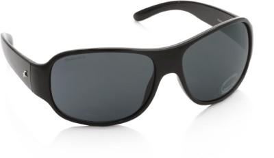 Fastrack P236BK1 Over-sized Sunglasses(Grey)