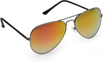 Olvin OL264-03 Aviator Sunglasses(Golden)