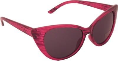 Euro Trend Pink Kitty Cat-eye Sunglasses
