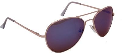 Floyd 30252_GOLD_LT_ICE_MERCURY Aviator Sunglasses(Blue)