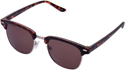 Joe Black JB-581-C3 Wayfarer Sunglasses(Brown)