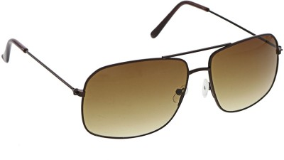 Vast 22451_rectangle_brown Rectangular Sunglasses(Brown)