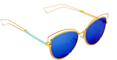Eye Candy Oval Sunglasses