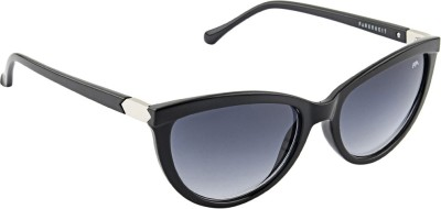 Farenheit 1815 Cat-eye Sunglasses(Grey)