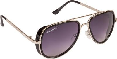 Danny Daze D-72-C6 Aviator Sunglasses(Violet)