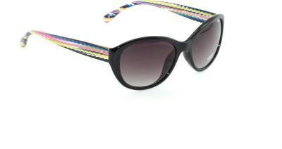 IDEE IDEE-1959-C5 Cat-eye Sunglasses(Black, Grey)