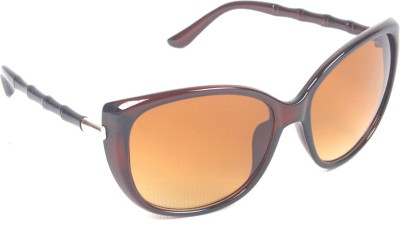 6by6 SG563 Cat-eye Sunglasses(Brown)