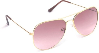 6by6 SG476 Aviator Sunglasses(Pink)