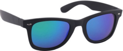 Joe Black JB-708-C8 Wayfarer Sunglasses(Green)