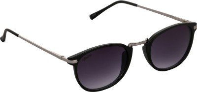 Affaires A-420 Black Oval Sunglasses