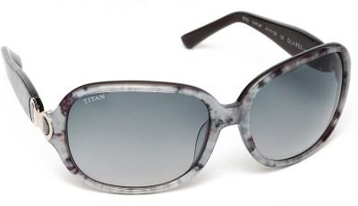 Glares by Titan G022CXFL9F Over-sized Sunglasses