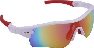 Omtex Galaxy Plus Red Sports Sunglasses