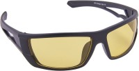 Blackburn Bb_872_yelmat Wrap-around Sunglasses(Yellow)