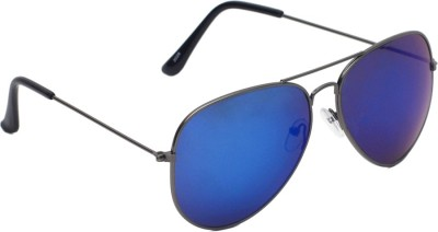 6by6 SG1480 Aviator Sunglasses(Blue)