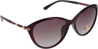 Vast WOMENS _POLO_8605_RED Cat-eye Sunglasses(Violet)