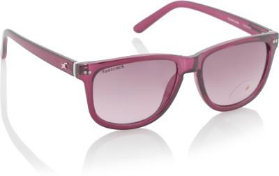 Fastrack P281PR2 Wayfarer Sunglasses(Pink)