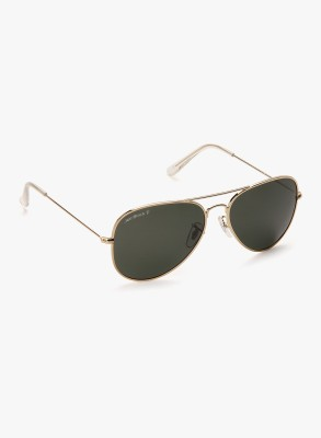 Joe Black JB-755-C1P Aviator Sunglasses(Green)