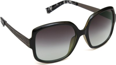 6by6 SG978 Over-sized Sunglasses(Black)