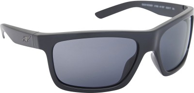 Arnette AN_4190_EMBLKBLK Rectangular Sunglasses(Black)