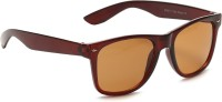 Camerii SW5 Rectangular Sunglasses(Brown)