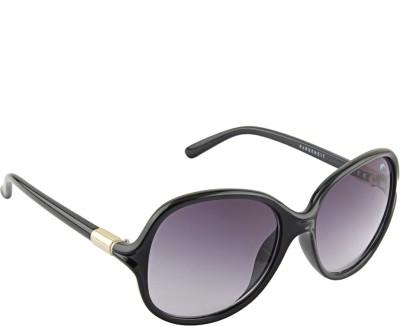 Farenheit 1805 Oval Sunglasses(Grey)