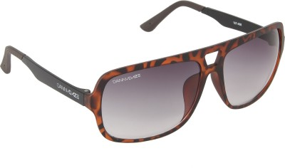 Danny Daze D-3215-C4 Over-sized Sunglasses(Violet)