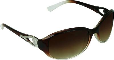 Garmor (8903522114700 /Brown Color Brown Frame) Oval Sunglasses