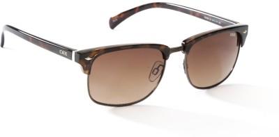 IDEE IDEE S2059 C3 54 Wayfarer Sunglasses(Brown)