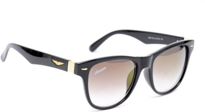 Amaze AM0496 Wayfarer Sunglasses(Brown)