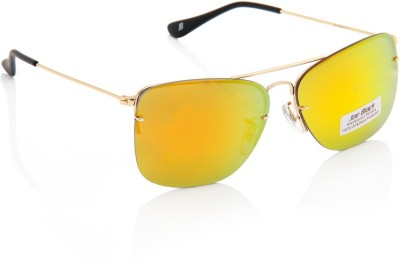 Joe Black JB-598-C5 Rectangular Sunglasses(Yellow)