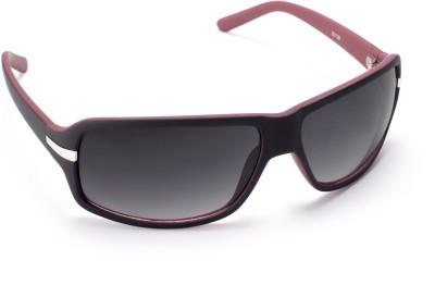 Cruzaar Black Magic Rectangular Sunglasses