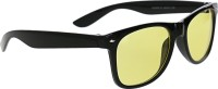 Vast Wayfarer_Black_yellow Wayfarer Sunglasses(Yellow)
