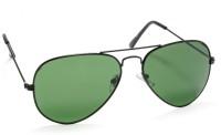 Stacle RAFAVI3025/BLK/B2 Aviator Sunglasses(Green)