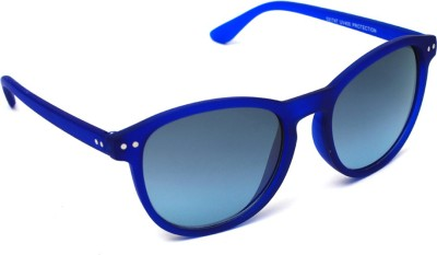 6by6 SG1043 Cat-eye Sunglasses(Blue)