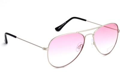 IDEE IDEE S1802L C7 57 Aviator Sunglasses(Pink)