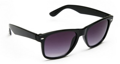 abazy Rubber finish Wayfarer Sunglasses