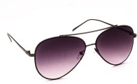 Stacle Stacle ST1872 Aviator Gun Violet Aviator Sunglasses(Violet)