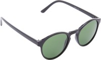 Provogue PV1010-SBlk-G15 Wayfarer Sunglasses(Green)