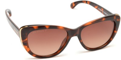 Joe Black JB-820-C2P Cat-eye Sunglasses(Brown)