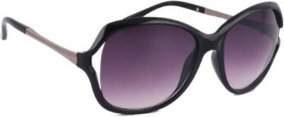 Joe Black JB-499-C1 Over-sized Sunglasses(Violet)