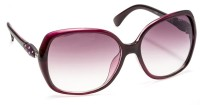 Stacle k167 c100 Over-sized Sunglasses(Violet)