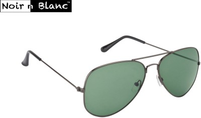 Noir n Blanc Aviator Sunglasses