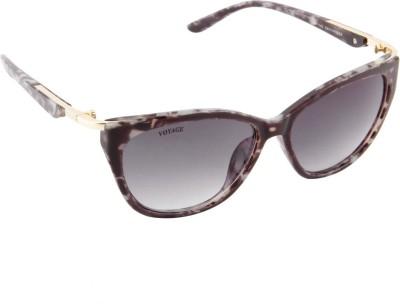Voyage MG538 Cat-eye Sunglasses(Black)